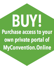 Purchase access to your own portal on MyConvention.Online